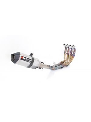 HIGH PERFORMANCE RACING SYSTEM, titanium header (4-2-1) with conical tubes & full Titanium Racing OKAMI muffler for YAMAHA YZF-R6, without homologation