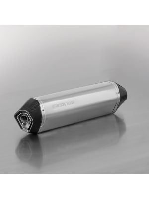 HEXACONE, RACING slip on (muffler with connecting tube) for HUSQVARNA 701 Supermoto, stainless steel, without homologation