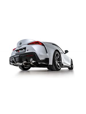 RACING axle-back-system L/R: RACING Sport exhaust centered with 2 tail pipes for L/R system and 1 integrated valve, NO (EEC-) APPROVAL