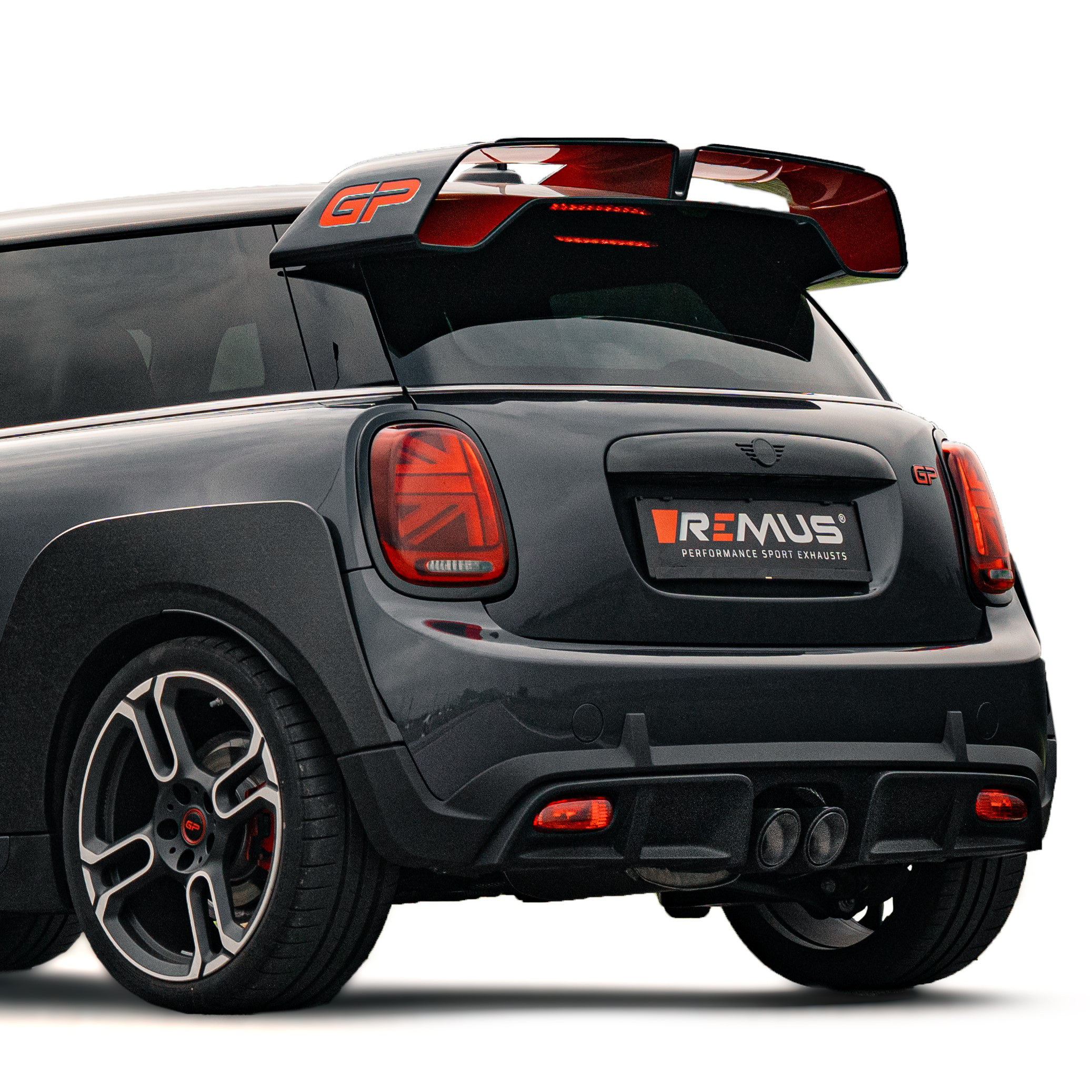 MINI JCW GP F56 REMUS sport exhaust system